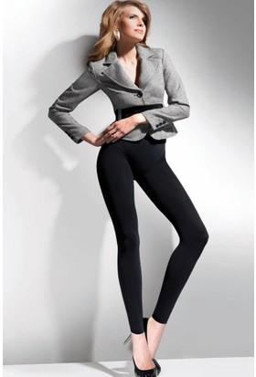 Gabriella 250 Den 3D Siyah Külotlu Çorap Legggins Cotton 250