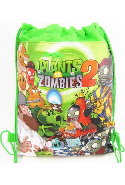 Piramigo Bitkiler Vs Zombies İpli Çanta - Plants Vs Zombies Bag