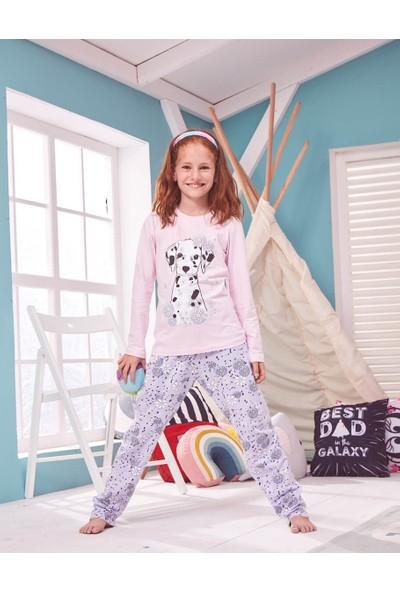 Donella Dalmaçyalı Köpek Baskılı Kız Çocuk Pijama - P2004