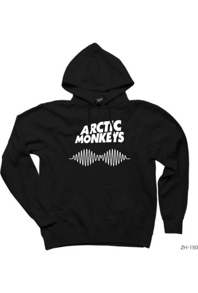 Zepplin Giyim Arctic Monkeys Logo Kapşonlu Sweatshirt / Hoodie
