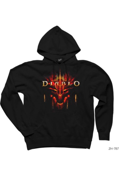 Zepplin Giyim Diablo 3 Kapşonlu Sweatshirt / Hoodie