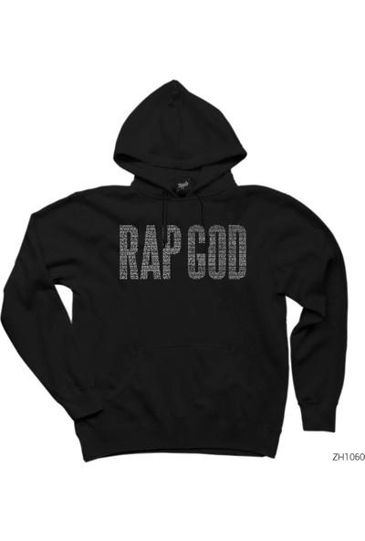 Zepplin Giyim Eminem Rap God Kapşonlu Sweatshirt / Hoodie