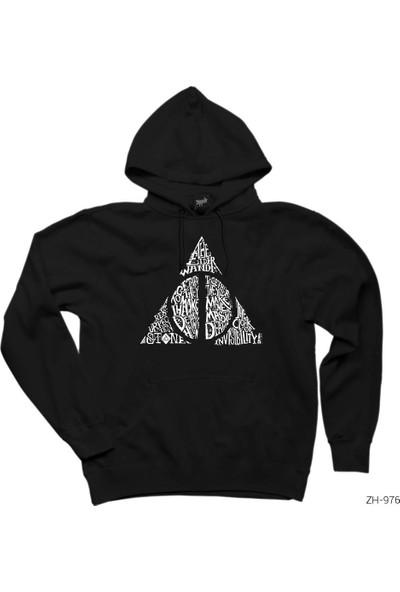 Zepplin Giyim Harry Potter Death Hallows Kapşonlu Sweatshirt / Hoodie