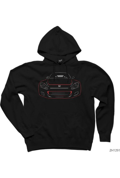 Zepplin Giyim Honda S2000 2 Kapşonlu Sweatshirt / Hoodie