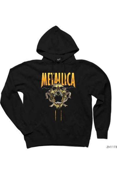 Zepplin Giyim Metallica Skull Kapşonlu Sweatshirt / Hoodie