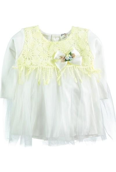 Civil Baby Kız Bebek Elbise 9-24 Ay Sarı
