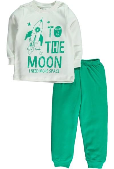 Civil Erkek Çocuk Pijama Takımı 2-5 Yaş Yeşil