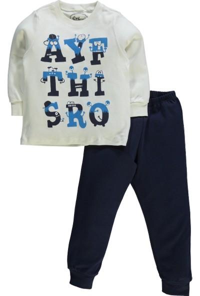 Civil Erkek Çocuk Pijama Takımı 2-5 Yaş Lacivert