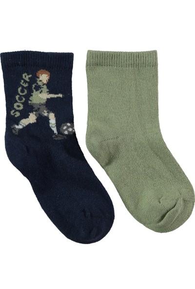 Civil Erkek Çocuk 2'li Çorap Set 3-11 Yaş Lacivert