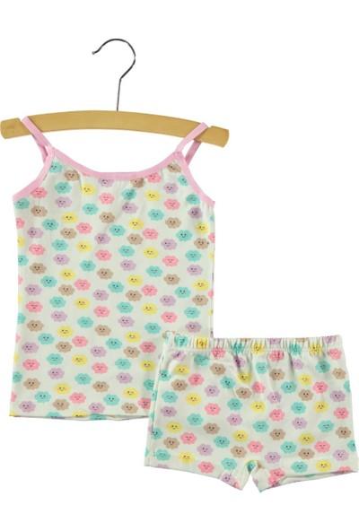 Civil Kız Çocuk İç Çamaşır Takımı 2-6 Yaş Pembe