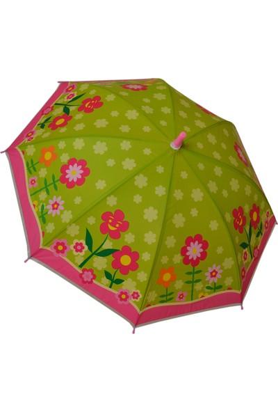 Sarıkaya Çocuk Şemsiyesi Çiçekler
