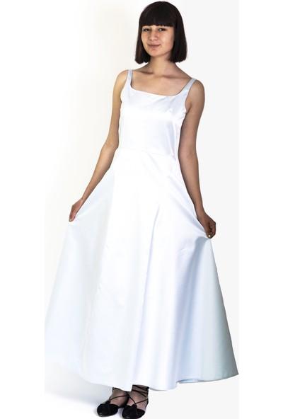 Kavshak Askılı Elbise
