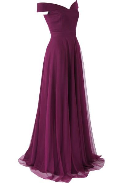 Açelya Okcu Fashion Mor Rüya Elbise
