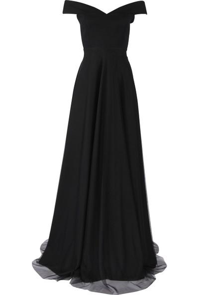 Açelya Okcu Fashion Siyah Rüya Elbise