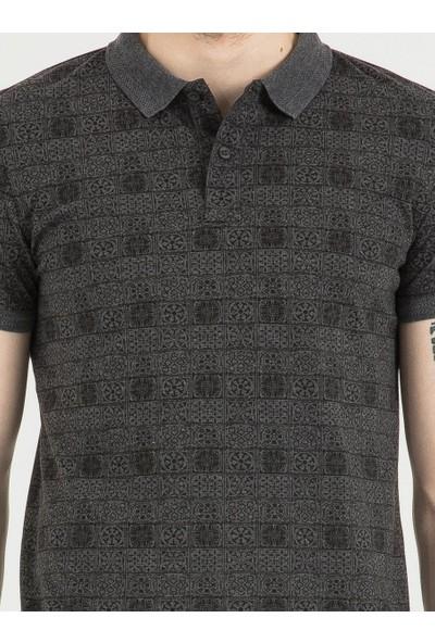 Loft 2016967 Erkek Polo T-Shirt Sleeve