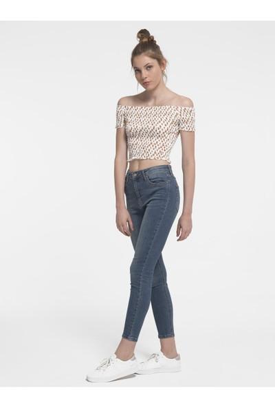 Loft 2017448 Kadın Bluz