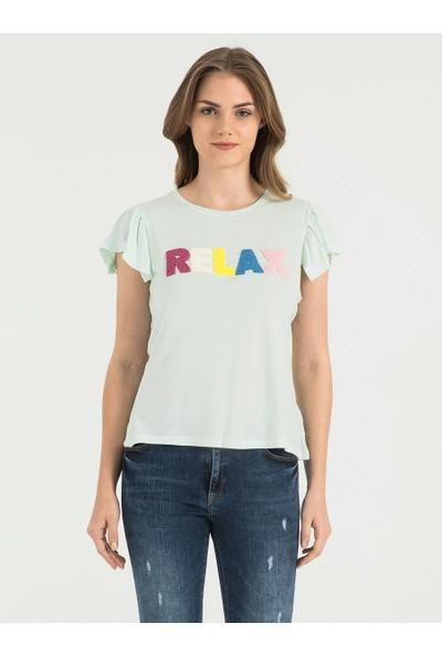 Loft 2017842 Bayan T-Shirt Sleeve