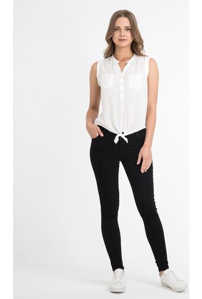 Loft 2017915 Bayan Bluz Short Sleeve