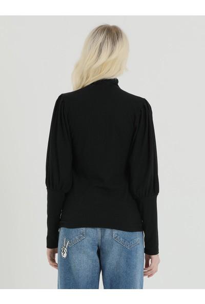 Loft 2018256 Bayan T-Shirt Long Sleeve