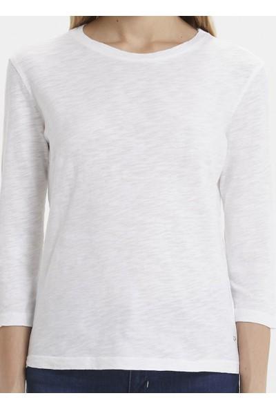 Loft 2019437 Kadın T-Shirt Long Sleeve