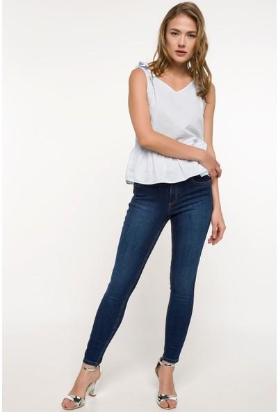 Defacto Kadın Anna Süper Skinny Denim Pantolon