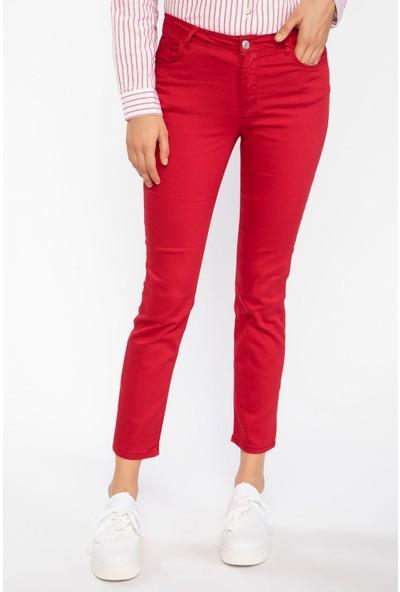 Defacto Kadın Rebeca Skinny Fit Pantolon