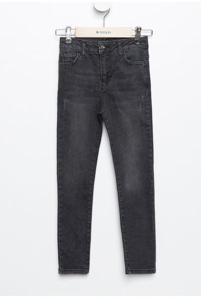 Defacto Kız Çocuk 5 Cep Slim Fit Jean Pantolon