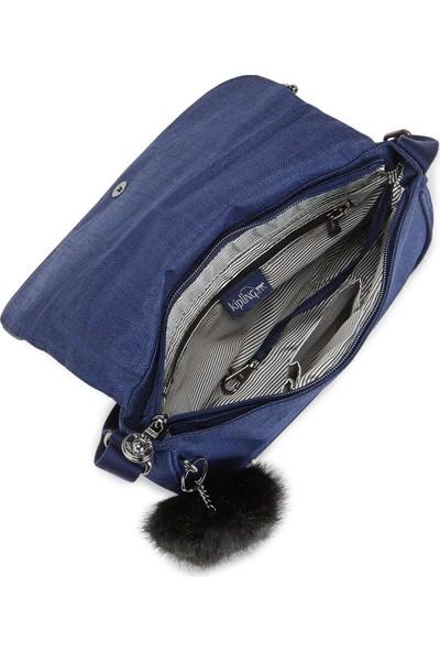 Kipling Kı250348G Mavi Kadın Omuz Çantası