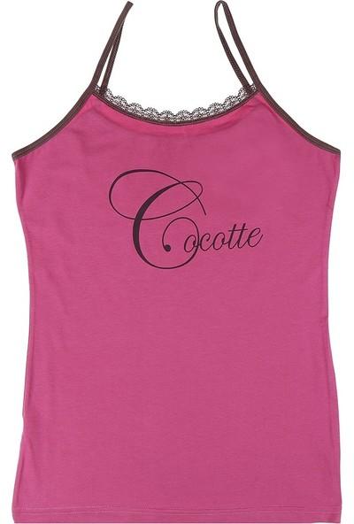 Donella Cocotte Baskılı Bayan Atlet - 2371WCO