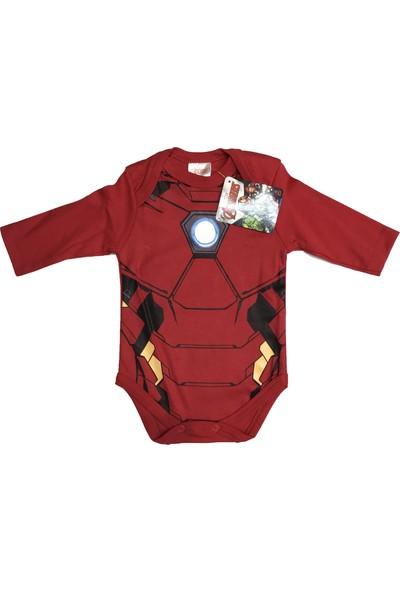 Iron Man Uzun Kol Badi- 5519