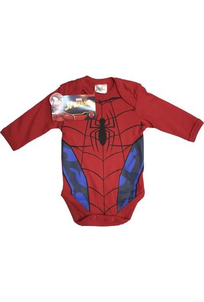 Spiderman Uzun Kol Badi- 5520