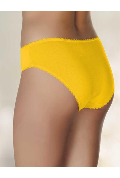 Şahinler Kadın Külot Sarı D-3071