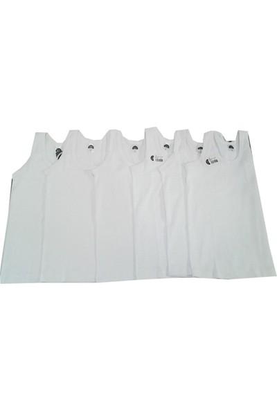 Gümüş İç Giyim Erkek Çocuk Ribana Atlet 6 lı Paket6 Adet