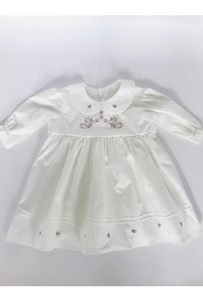 Alysrababy Bebe Yaka Elbise