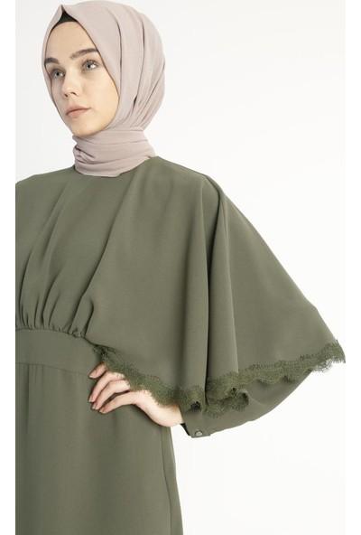 Abacı Haki Elbise 11751-P73
