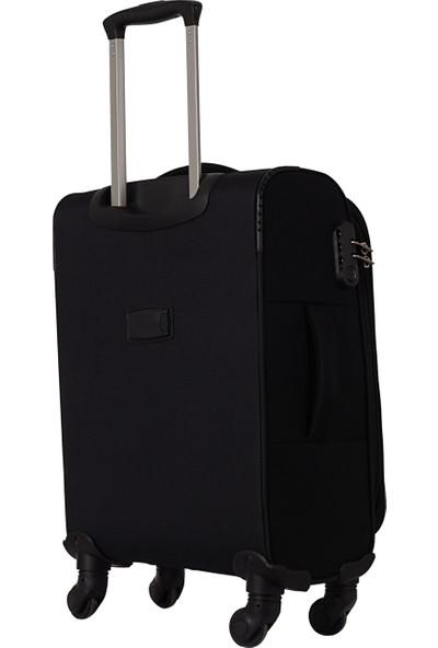 Ççs 5150 Kumaş Kabin Boy Valiz Siyah