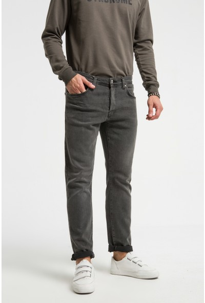 LTB Hammond Grey Eagle Wash Erkek Pantolon