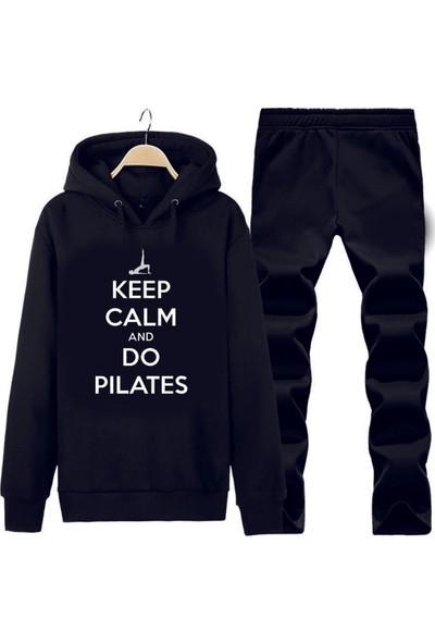 Art T-Shirt Pilates Kapüşonlu Eşofman Takımı