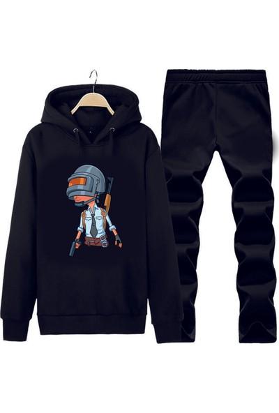 Art T-Shirt Pubg Jr Kapüşonlu Eşofman Takımı