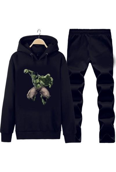 Art T-Shirt Hulk Kapüşonlu Eşofman Takımı