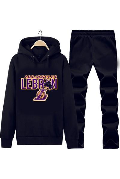 Art T-Shirt Lebron La Kapüşonlu Eşofman Takımı