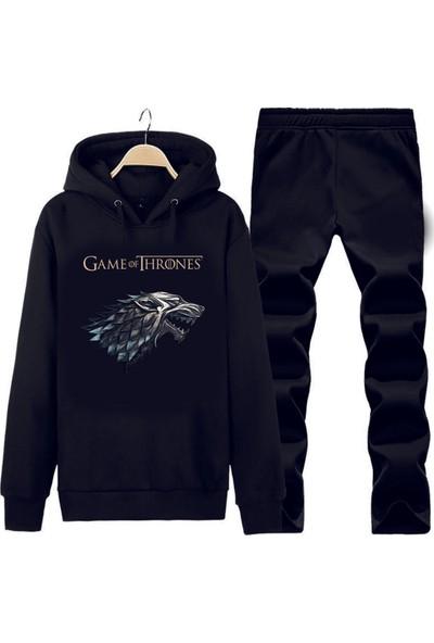 Art T-Shirt Game Of Thrones Kapüşonlu Eşofman Takımı
