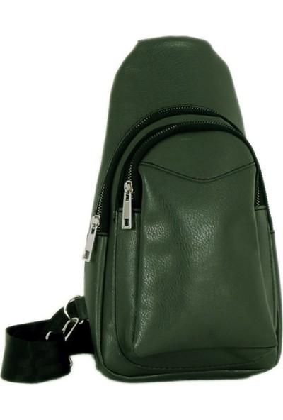 Luwwe Yeşil Kadın Sırt Göğüs Çantası Lwe20242-Y