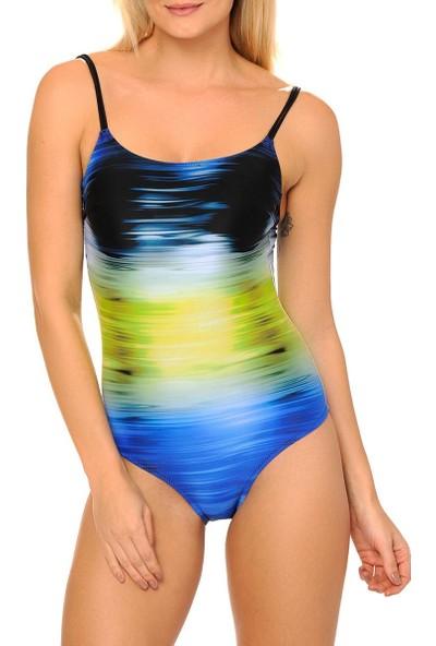 Reflections Kadın Mayo Askılı Mavi Renk 2112
