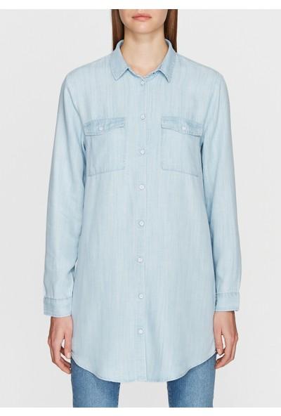 Mavi İndigo Gömlek
