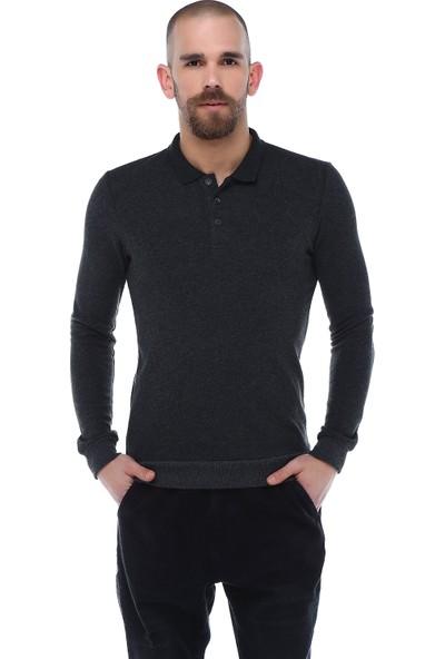 Diandor Polo Yaka Erkek Sweatshirt 1725000