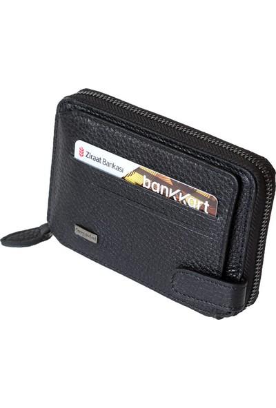 Cengiz Pakel Kredi Kartlık Cüzdan 65197 Siyah