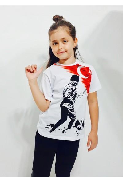 Toontoy Unisex Atatürk Baskılı T-Shirt