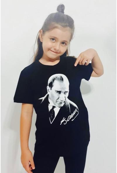 Toontoy Unisex Çocuk T-Shirt Atatürk Baskılı