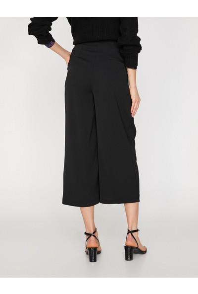 Koton Kadın Kisa Paça Pantolon